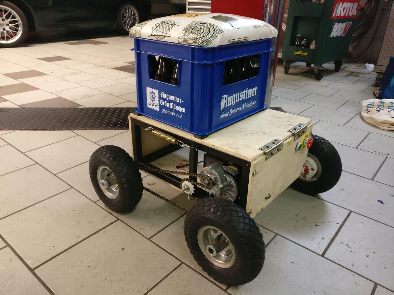 Big rover robot platform – Part 1